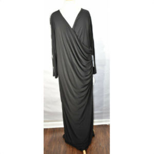 Xscape 22W Womens Plus Size Cocktail Maxi Dress